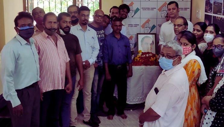 Late. Sadbhavana Divas program celebrated at Assagaon Badem on the occasion of Rajiv Gandhi's Birth Anniversary. (Goa)