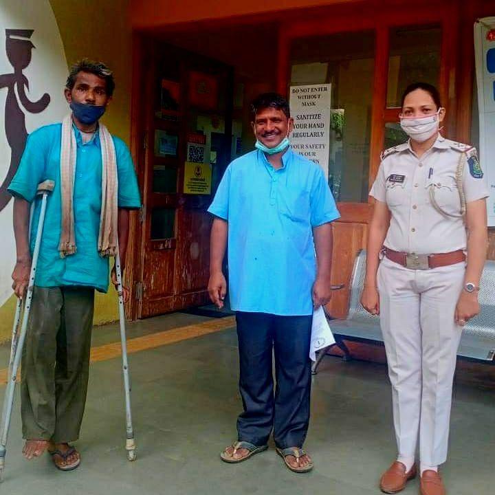 Goa: खांडेपारतील 'मॉ आसरोघर' तर्फे म्हापसातील निराधाराला आश्रय