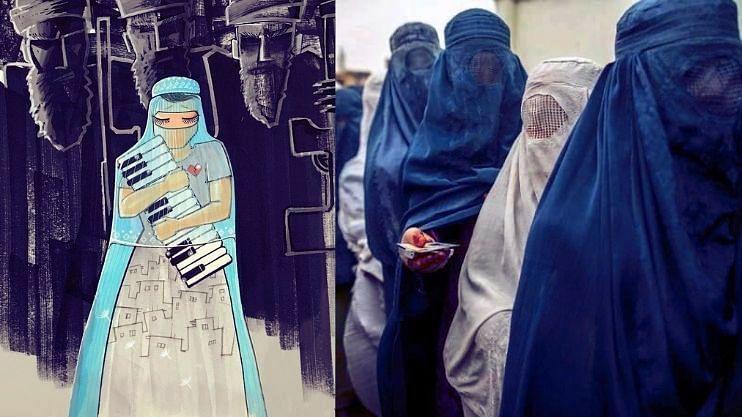 तालिबानी राजवटीत अफगाणि महिलांवर मर्यादांचा पडदा