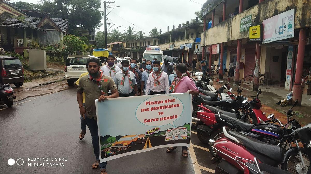 Goa: कुडचडेत रुग्णवाहिकेवरून घमासान