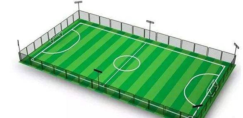 Goa Futsal : Clancio Pinto of Santa Cruz club Cavelossim controls the ball.