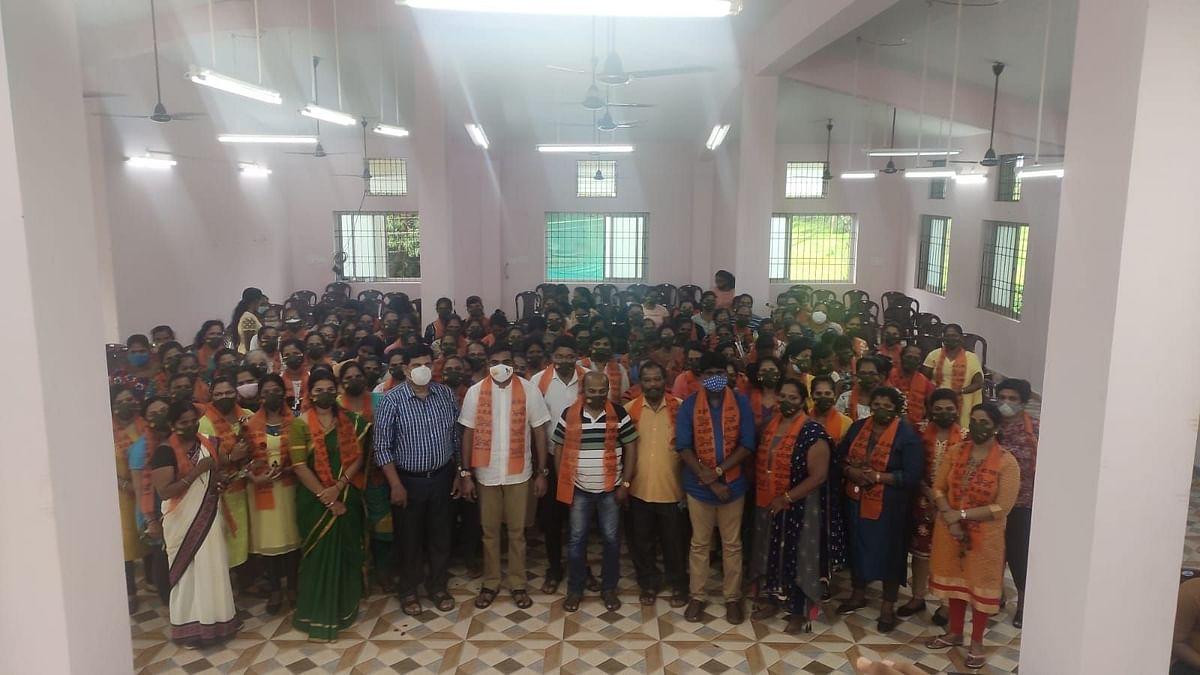 Goa: मांद्रेत १३० ख्रिस्ती महिलांचा कॉंग्रेसमधून मगोत प्रवेश
