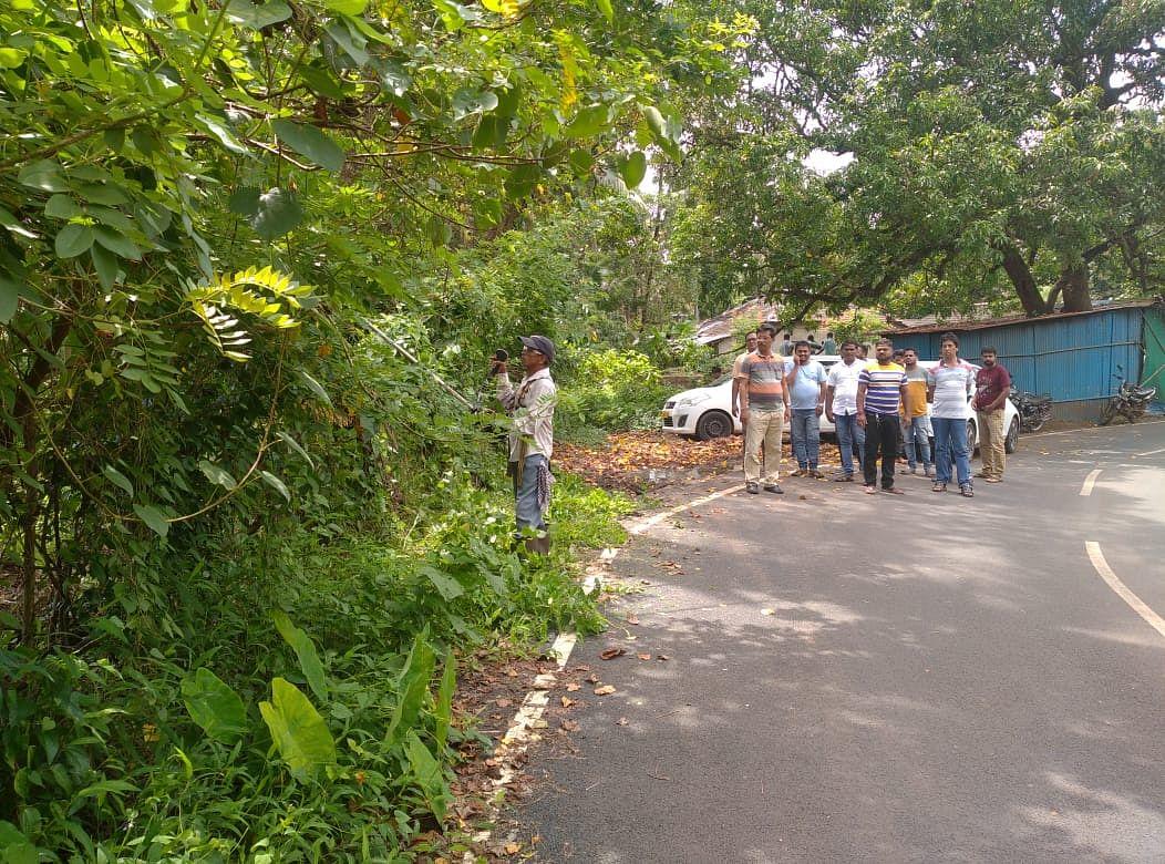 Goa: मिशन फोर लोकल पेडणे संघटनेकडून कमळेश्वर देवळाच्या परिसराची साफसफाई