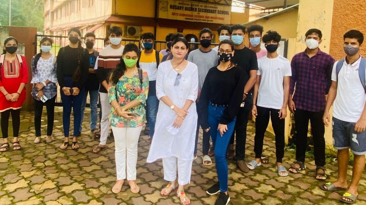 Goa: 'रोझरी' विद्यालयाचे विद्यार्थी संतप्त