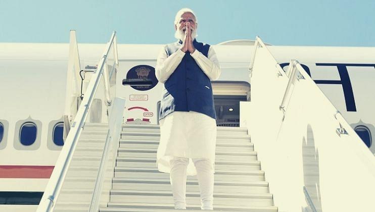 अमेरिका दौऱ्यानंतर पंतप्रधान मायदेशी, भाजपकडून जंगी स्वागत