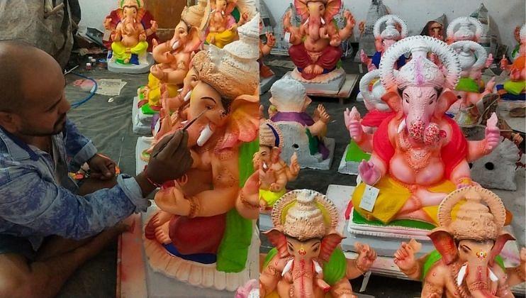 Goa: चिकण मातीच्या मुर्त्यांना प्राधान्य द्या; विष्णू च्यारी