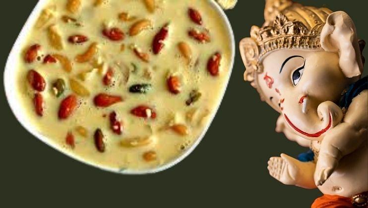आपल्या लाडक्या बाप्पांसाठी बनवा स्वादिष्ट गुजराती बासुंदी