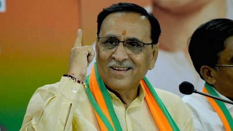 Breaking: गुजरातचे मुख्यमंत्री विजय रूपानी यांचा राजिनामा