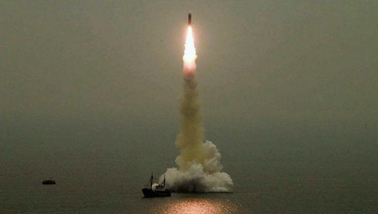 East Sea: उत्तर कोरियाने पुन्हा एकदा केली क्षेपणास्त्र चाचणी?