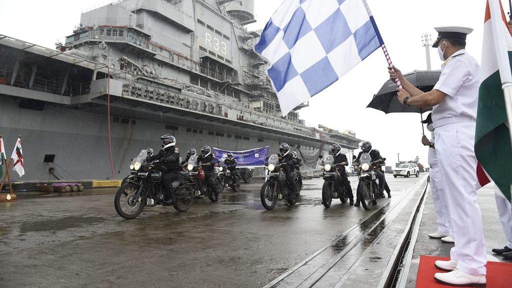 Indian Navy करणार कारवार ते नवी दिल्लीपर्यंत मोटरसायकल प्रवास