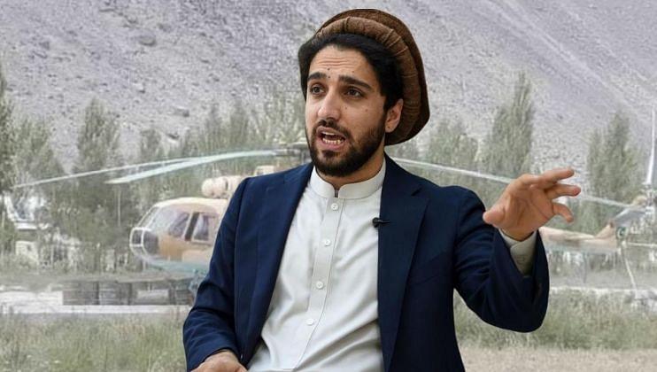 अहमद मसूदचा मोठा दावा, एनआरएफने पाकिस्तानचे लढाऊ विमान पंजशीरमध्ये पाडले