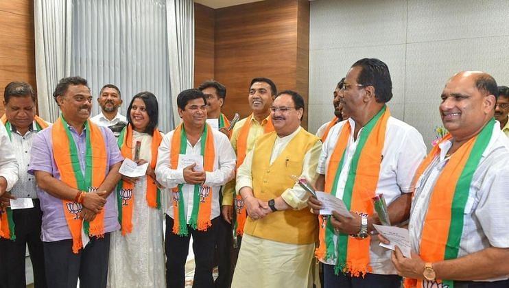 GPCC Mahila at Delhi (Goa Politics)