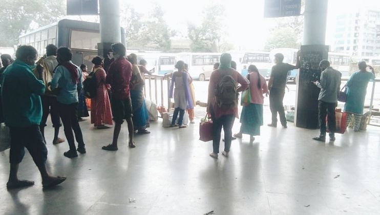 Goa: कदंब बसस्थानकावर बसचा तुटवडा, प्रवासी त्रस्त