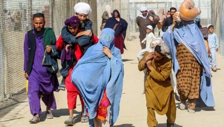 Taliban Government despite women's for back to the work