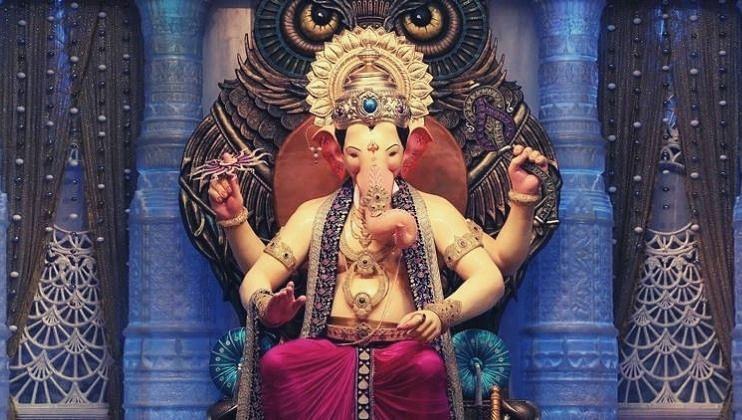 Ganesh arrival