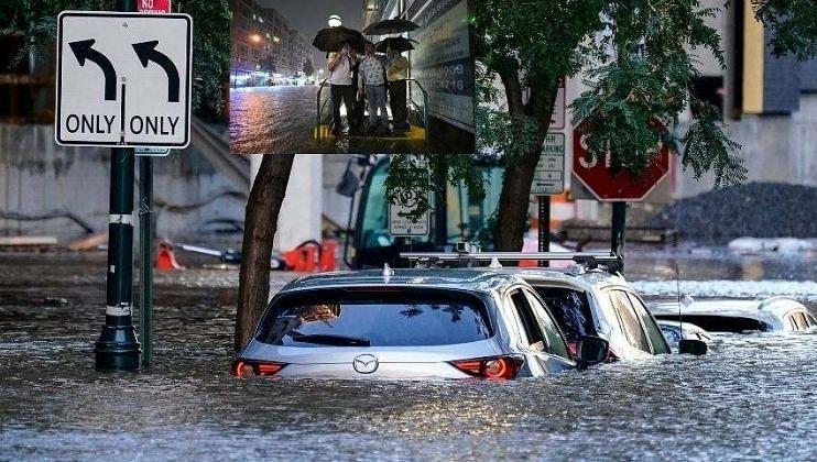 न्यूयॉर्कमध्ये 'इडा' चे थैमान, 41 जणांचा दुर्दैवी मृत्यू