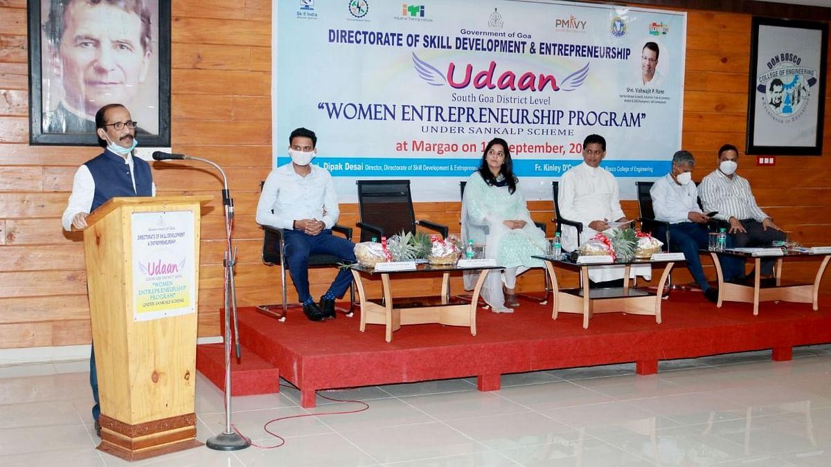 Goa: 'उडाण' कार्यक्रमात महिलांना उद्योजकता विकासावर मार्गदर्शन