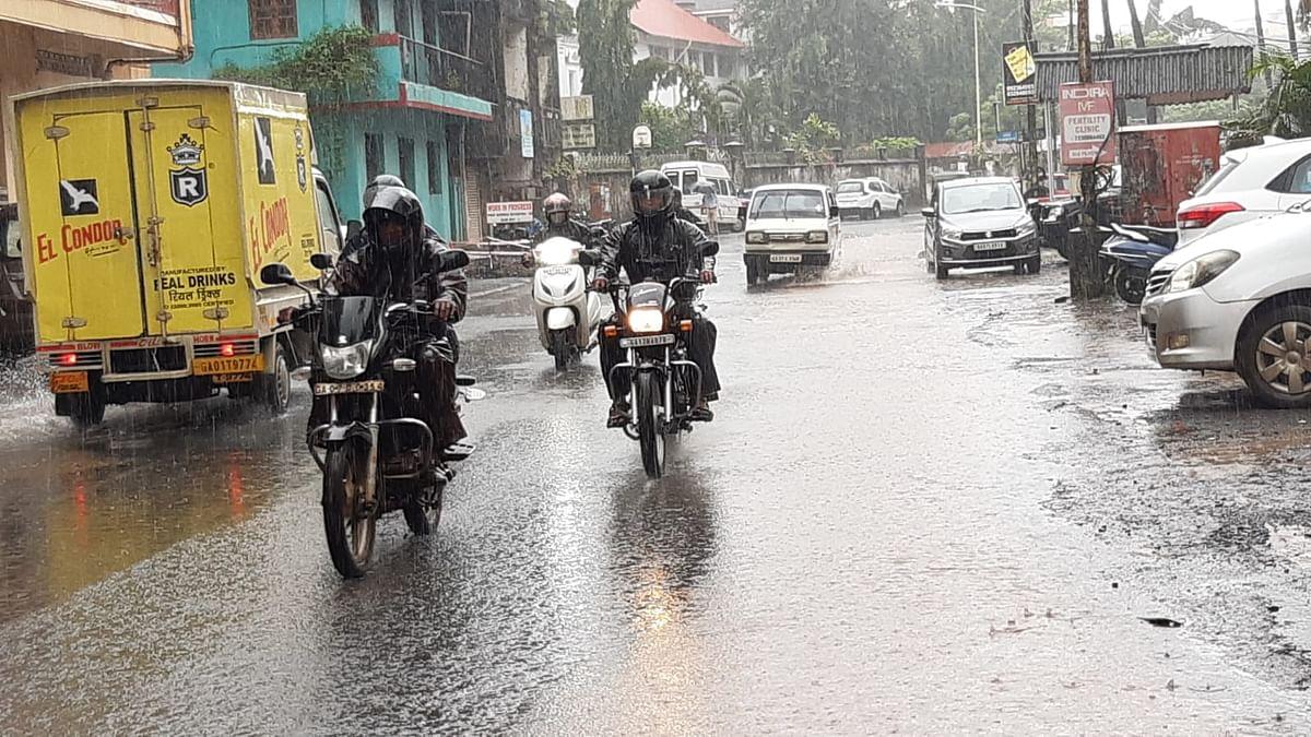Goa Monsoon Update: पणजीत अर्धा तास मुसळधार