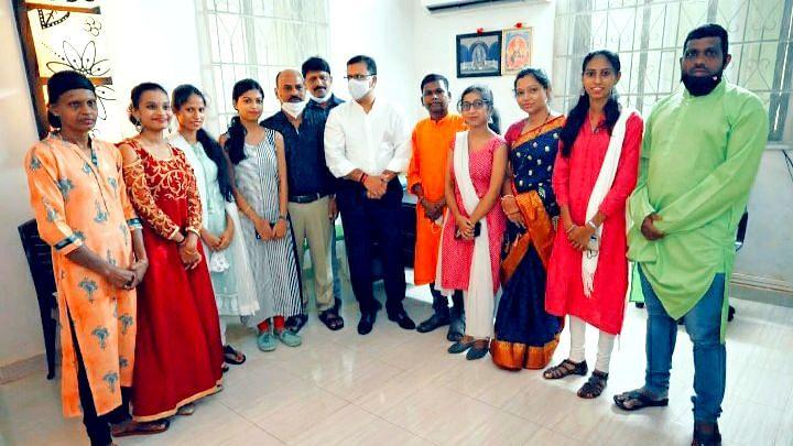 Goa: आरोग्य मंत्री विश्वजीत राणेंच्या हस्ते भक्तीगीतांचे प्रकाशन