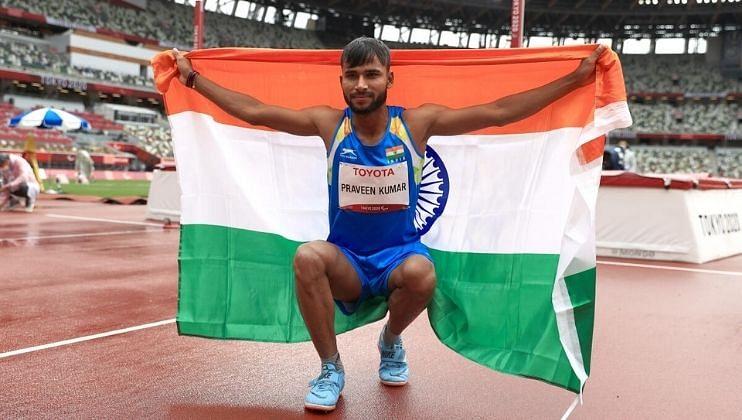 Tokyo Paralympics: प्रवीणच्या उंच उडीनं भारताचा पदकांचा आलेख आणखी उंचावला