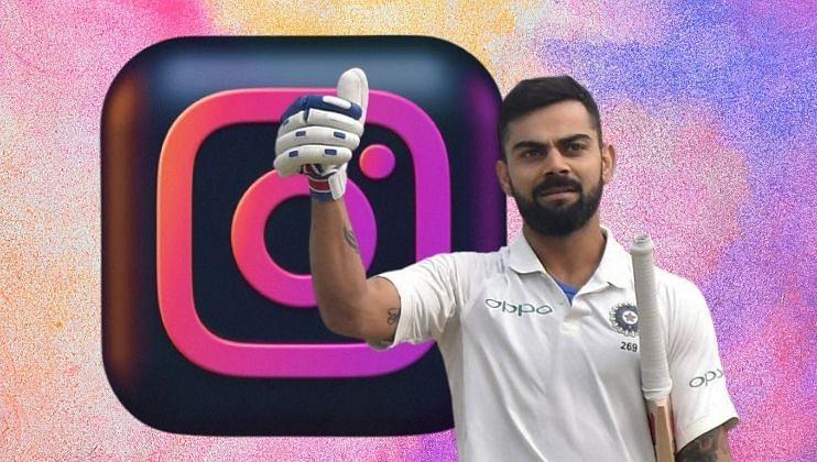 Virat Kohli बनला 150 millions Instagram followers भारतातील पहिला खेळाडू