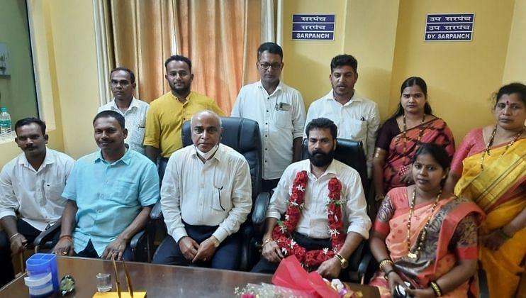 Goa Election: निवडणुकीत बाबू आजगावकर यांना धारगळ पंचायतीचा पूर्ण पाठींबा