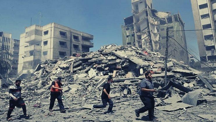 Air Strike: हमासच्या दहशतवादी हल्ल्याला इस्रायलचे प्रतिउत्तर