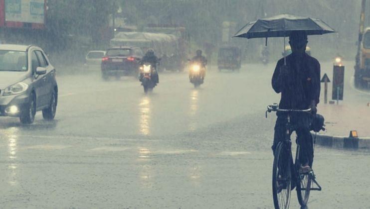 Monsoon Update:आंध्र प्रदेशसह ओडिशाच्या किनारपट्टीवर 'गुलाब' चक्रीवादळ तर  बंगालमध्येही मुसळधार