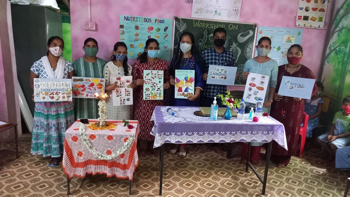 Goa: विजयानंद शाळेत पौष्टिक आहारावर कार्यशाळा