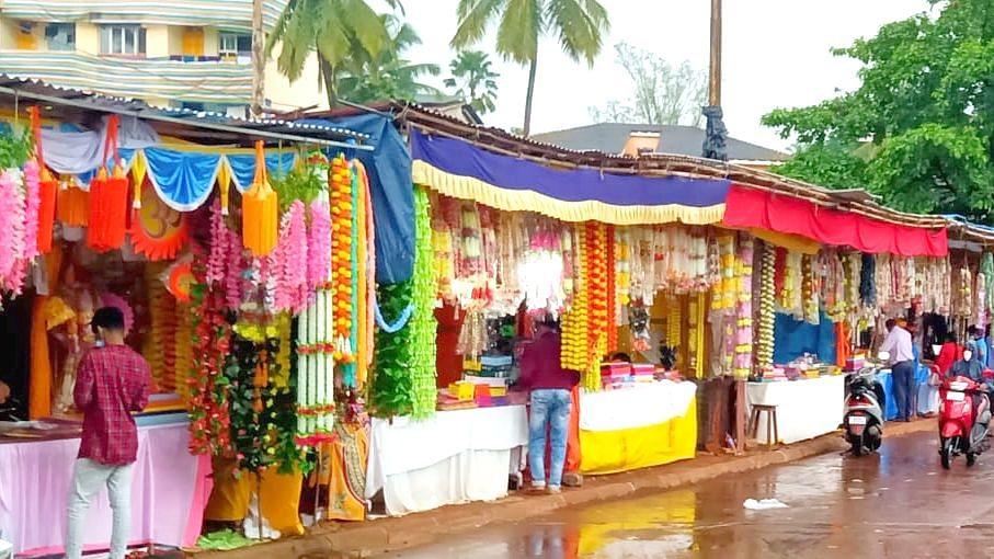 Goa: चतुर्थीच्या तोंडावर पावसाचा कहर