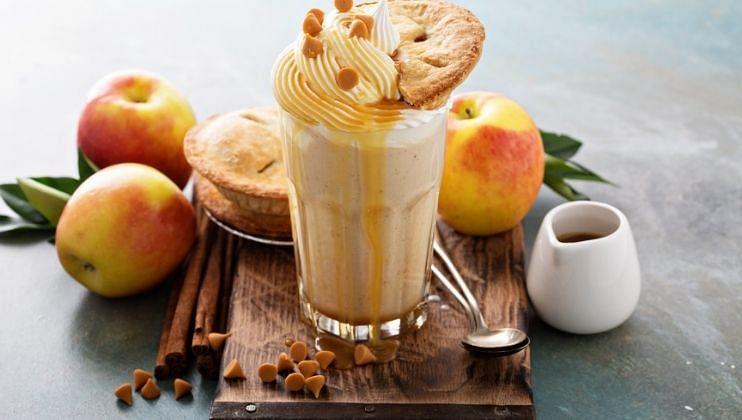 Apple Milkshake हाडांच्या आणि लिव्हरच्या आरोग्यासाठी फायदेशीर