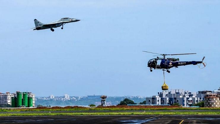 INS Hansa: भारतीय नौदलाच्या हवाईतळाचा हीरक महोत्सव सोहळा संपन्न