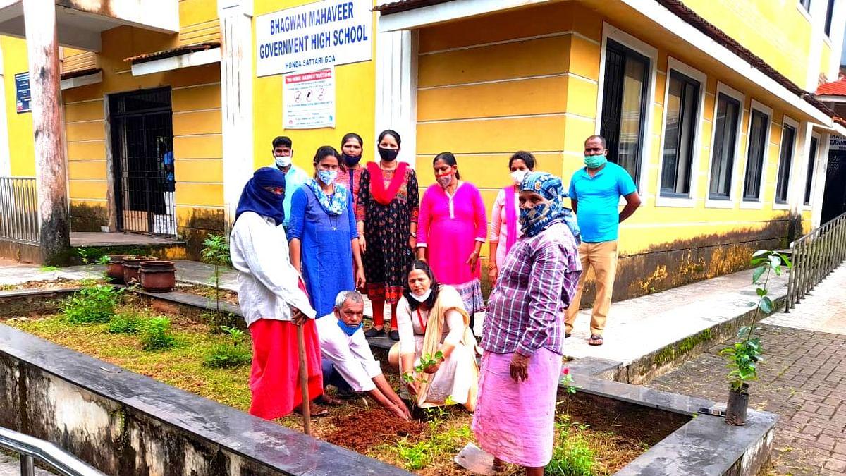 Goa: होंडा पंचायतीच्या वतीने वनमोहत्सव साजरा
