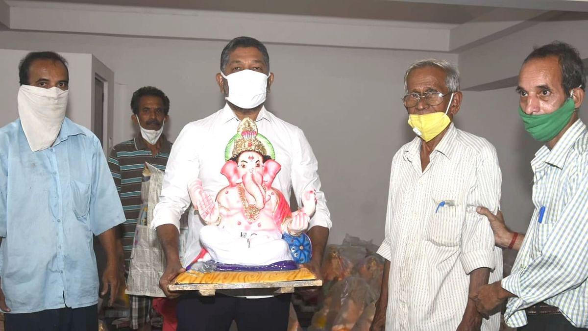 Goa Ganesh Chaturthi: गोव्यात घरोघरी बाप्पांचे आगमन