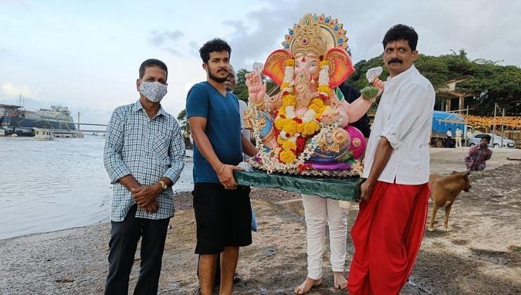 Goa: 'गणपती बप्पा मोरया, पुढच्या वर्षी लवकर या'