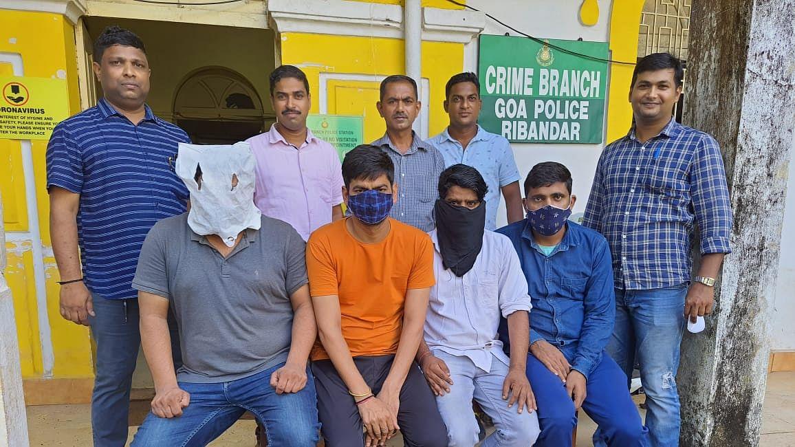 IPL Cricket Betting करणारी टोळी कळंगुट येथून जेरबंद