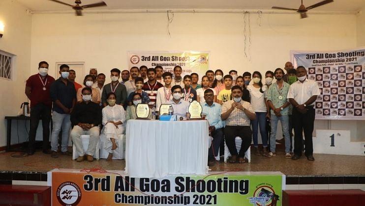 Goa: राज्यस्तरीय नेमबाजीत आदित्यला 'सुवर्णपदक'