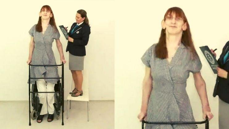 'ही' आहे जगातील सर्वात उंच महिला, उंची जाणून व्हाल थक्क!