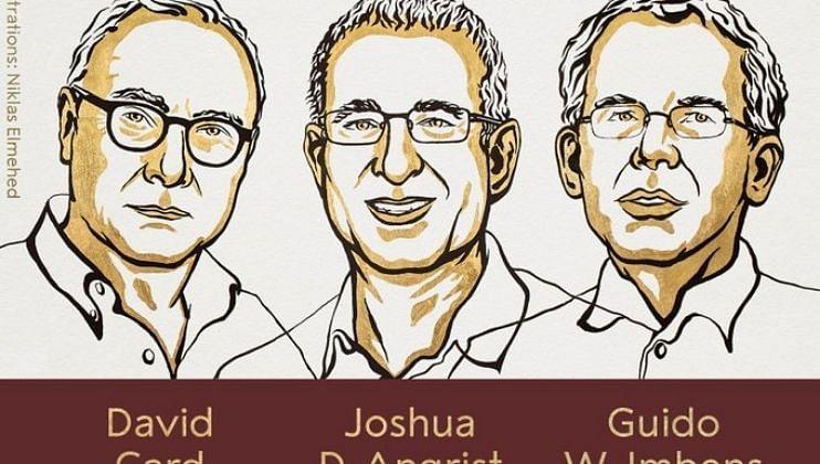 डेव्हिड कार्ड, जोशुआ डी अँग्रिस्ट आणि गिडो इम्बेन्स यांना मिळणार अर्थशास्त्रातील नोबेल