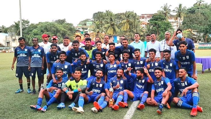 Goa: धेंपो क्लबचा विजयाने क्रीडा मोसमाच्या आरंभ