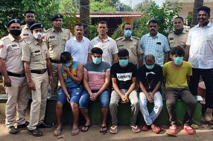 Goa: कळंगुटमध्ये बनावट कॉल सेंटर टोळीचा पर्दाफाश