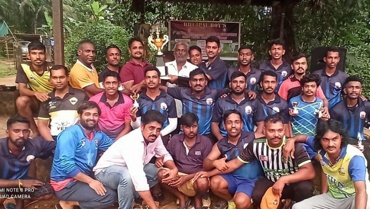भुईपाल बॉईज क्रिकेट स्पर्धेत गावठण संघ विजेता