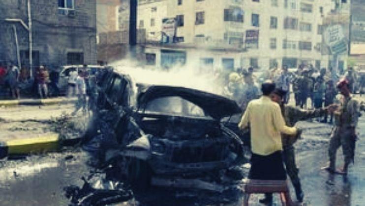 येमेनमध्ये बॉम्बस्फोट 6 जणांचा मृत्यू तर 7 जण जखमी