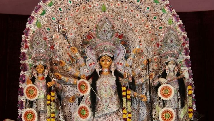 सावईवेरे: वळवई येथील श्री गजांतलक्ष्मी देवस्थानचा नवरात्रोत्सव 7 ते 14  तारखेपर्यंत विविध कार्यक्रमांनी साजरा करण्यात येणार आहे.