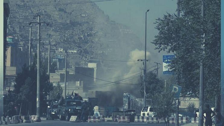 Kabul Blast: Taliban Attacks on IS hideout