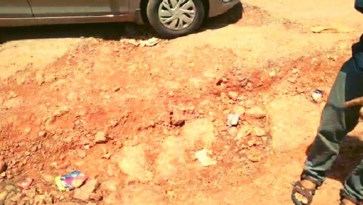 Goa: कुठ्ठाळीमध्ये रस्त्यात खड्डे की खड्यात रस्ते; नागरिकांची गैरसोय