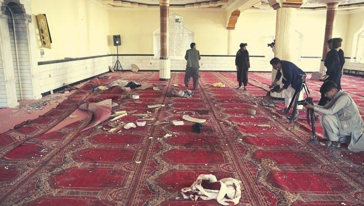 Afghanistan: नमाजादरम्यान मशिदीवर मोठा हल्ला; 50 ठार, 90 जण जखमी