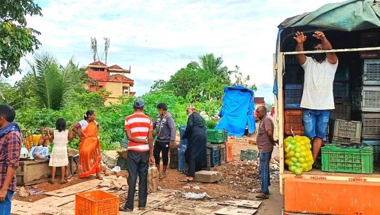Goa:अखेर मुरगाव पालिकेने ती अतिक्रमणे हटविली