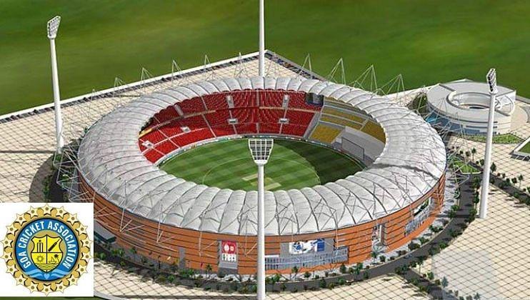 Goa: धारगाळ क्रिकेट स्टेडियम प्रकल्पात 10 हजार चौरस मीटर जमीन सोडणे गरजेचे