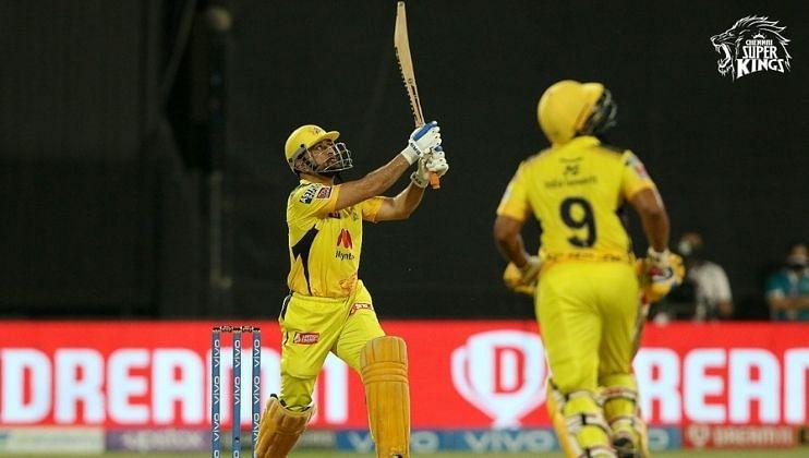 IPL 2021: MSD च्या 'फिनीशींग सिक्सने' CSK इन तर SRH आउट